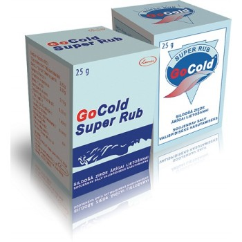 Go Cold SUPER RUB 25g