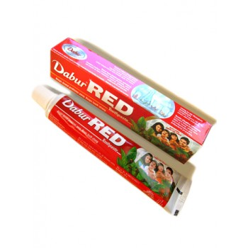 RED Dabur Herbal Toothpaste 100g