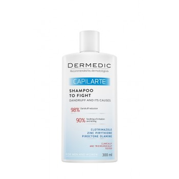 Dermedic Capilarte Shampoo Anti-Dandruff Combating Its Cause 300 ml