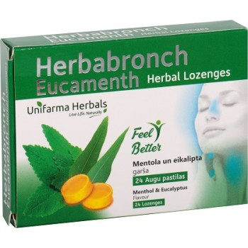 Herbabronch Eucamenth herbal lozenges N24