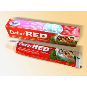RED Dabur Herbal Toothpaste 200g