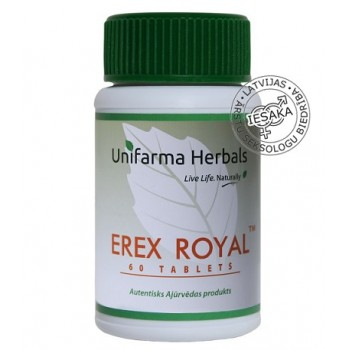Unifarma Herbals Erex Royal Tablets N60