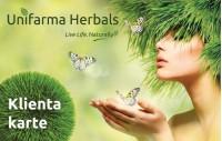 Unifarma Herbals Klienta Karte