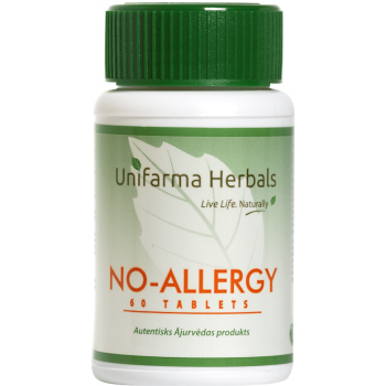 Unifarma Herbals No-Allergy Tablets N60