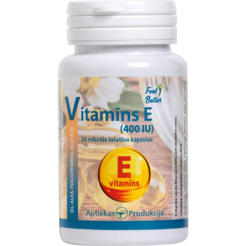 Vitamin E (400 IU) caps N30